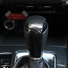 Sport Carbon Fiber Print Shift Knob Cover For Mazda 3 2014 15 16 2017 AXE AT