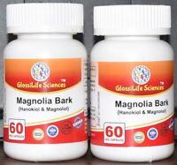 Honokiol & Magnolol Magnolia Bark 10:1  Extract Capsules Reduce anxiety