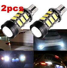 2pcs Xenon White No Error Canbus T15 W16W 5630 COB 15-LED Backup Reverse Bulbs F