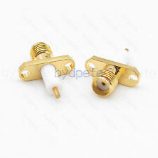 SMA female 2hole panle RFConnector female pin crimp for RG316 RG174 cable 7.0mm