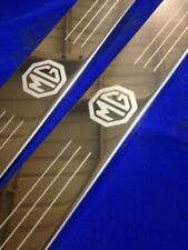 mg b roadster door sills kick plates stainless inc logo fixings scuff panels