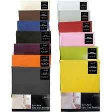 Plain Fitted Bed Sheets - Single Double King 50% Cotton Bedding✔