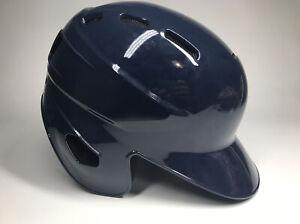 Rawlings Navy Blue Double Ear Flap S100 Batting Helmet Size 7 1/4