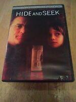 Preowned Hide and Seek DVD 2005 full screen Robert Deniro Dakota Fanning Famke