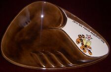 Cool 1960's 14th Air Force Ashtray Made from Holland Mold