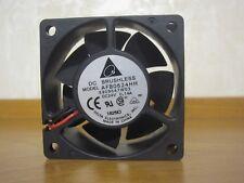 1 x NEW Delta Model - AFB0624HH Fan (60 mm * 60 mm * 25 mm) 24VDC 0.14A 2 pins