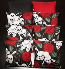Skull Cornhole Bean Bags 8 Aca Regulation Party Bags Skeleton Party