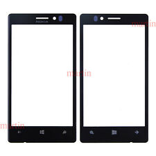 Original Black Outer Glass Front Screen Lens LCD Replacement For Nokia Lumia 925