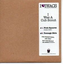 (AS644) I Was A Cub Scout, Pink Squares - DJ CD