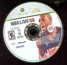 Xbox 360, NBA Live 06 Video Game, No Case, Basketball!