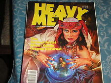 HEAVY METAL magazine, may 1992 ,the SEXIEST ARTIST ALIVE  GUIDO CREPAX RETURNS