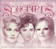 SONGBIRDS - 3 CD BOX SET - PATTI PAGE * SANDY POSEY & PETULA CLARK