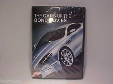 Cars of the James Bond 007 Films Ten Most Notable Cars DVD Video Sealed 50 Mins