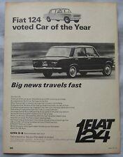1967 Fiat 124 Original advert
