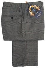 Pantalones de hombre delantero liso de color principal gris de poliéster