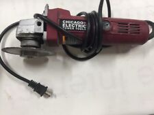 Chicago Electric Power Item 91223 Angle Grinder Heavy Duty