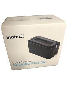 "Inateck USB 3.0 SATA 2.5""/3.5"" HDD/SDD Single Bay Hard Drive Docking Station"