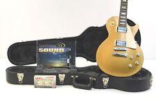 2012 Gibson Les Paul Studio 50's Tribute Humbucker Guitar w/Case - Gold Top USA