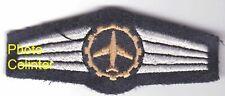Brevet tissus Mecanicien Aviation  Allemagne de l'Ouest - RFA - classe bronze