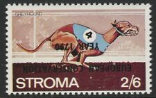 GB Locals - Stroma (1052) 1970 European Conservation opt INVERTED on 2s6d DOGS