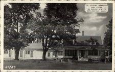Bernarston Ma The Wilkins Homestead Postcard