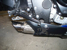 2007-2008  GSXR 1000 exhaust slip on RLS Exhaust Chaos series Polished