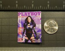 1/6 Scale Custom Playboy - Psylocke - full interior, for DC Marvel Figures