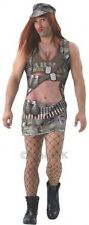 Mens Army Annie Drag Comedy Rude Stag Do Night Fancy Dress Costume Outfit
