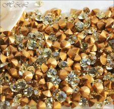 Any Purpose Yellow Round Jewellery Making Craft Beads