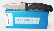Benchmade Nakamura Folding Knife S90V  Blade  Carbon Fiber handle Nak-Lok 484-1