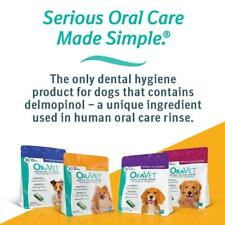 NEW! OraVet Dental Hygiene Chews for Dogs 2-PACK (60 Ct) - ALL SIZES
