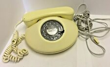 Vintage Rotary Telephone Oval - Ivory BRITISH TELECOM 1981 - Chandlers Ford