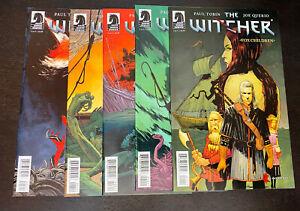 The WITCHER Fox Children (2015 Dark Horse) -- #1 2 3 4 5 -- FULL Series