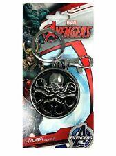 Hydra Symbol Pewter Key Ring Avengers Marvel Comics Licensed Key Chain Key Ring