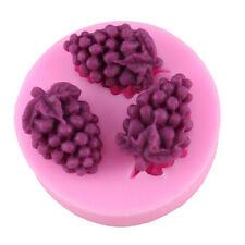 Silicone Grape Mold Fondant Cake Cupcake Decorating Candy Baking Tool DIY