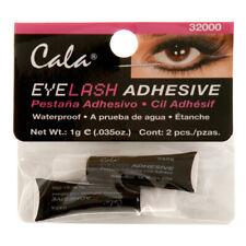 2 X Cala Eyelash Adhesive Glue Dark Waterproof Make Up Fake