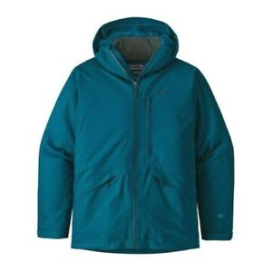 PATAGONIA Mens S Insulated SNOWSHOT Waterproof Jacket Small. Ski puff not down.
