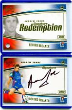 2006 SELECT RECORD BREAKER SIGNATURE REDEMPTION ANDREW JOHNS CARD #57 / 100