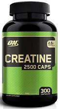 Optimum Nutrition CREATINE 2500 Pure Creatine Monohydrate 300 capsules