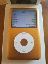 Apple iPod Classic GOLD!- Thick Back (120gb) Refurbished! MINT! GREAT UNIT!