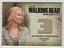 Walking Dead Season 3 Part 2 M34 Wardrobe Laurie Holden as Andrea Free Ship
