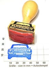 Ford P5 Taunus (1965) Frontansicht Autostempel - rubberstamp