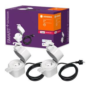2x Smart+ Plug ZigBee Steckdose außen Smart Home Philips Hue Alexa Echo >UVP 65€