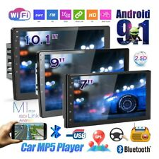 1080P 10.1'' 2Din Android 9.1 Car Stereo Radio Gps Wifi Mp5 Player 2.5D Screen
