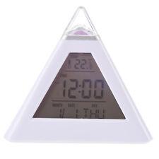 Piramide Sveglia digitale con luce di notte cambia il colore  J5I1