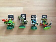 SKYLANDERS 4 LIFE ELEMENT FIGURES zook stump smash stealth elf camo