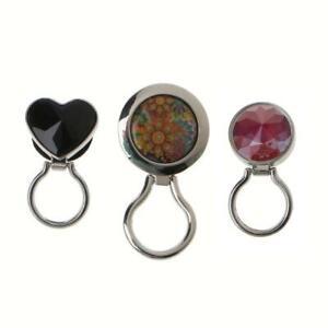 Magnetic Metal Eyeglass Badge Holder Eyewear Sunglasses Holder Safety Brooch