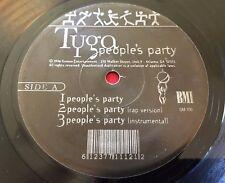 """TYGA ~ PEOPLE'S PARTY (1996) GEMINI GM 100 ~ RARE RAP HIP HOP 12"""" ATL"""