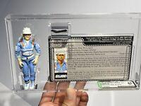 AFA 85 G I JOE Hasbro 1987 HardTop 100% Loose Complete With Filecard Fantastic