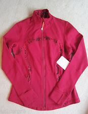 Lululemon Define Jacket Cranberry Ziggy Snake Red Tide 10